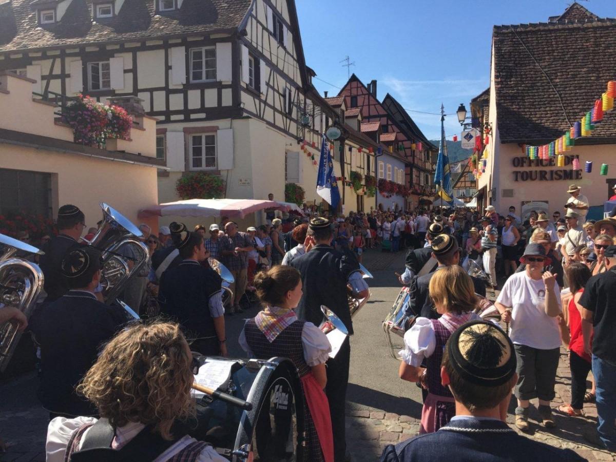 Sortie de 2 jours en Alsace pour la fanfare L'Edelweiss de Semsales